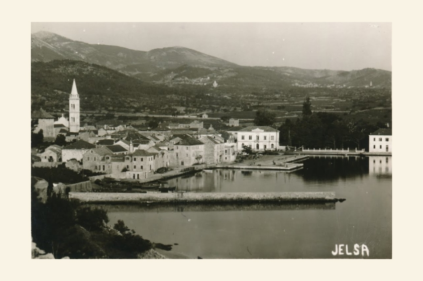 Old photos - Jelsa, island of Hvar